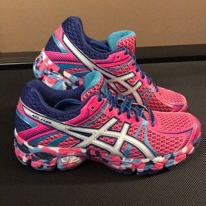 Pink ASICS Women's Athletic Shoes